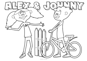 Alex en Johnny